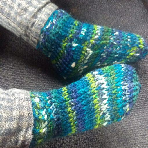 laten zien hoe de sokken zitten